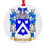 Edeson Round Ornament
