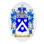 Edeson Ornament (Oval)