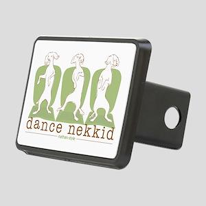 dance nekkid Rectangular Hitch Cover