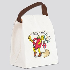 Bad Apple Canvas Lunch Bag
