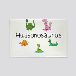 Hudsonosaurus Rectangle Magnet
