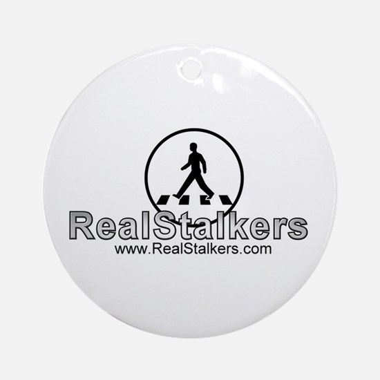 Real Stalkers Logo Ornament (Round)