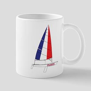 France Dinghy Sailing Mug
