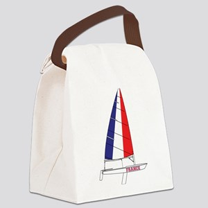 France Dinghy Sailing Canvas Lunch Bag
