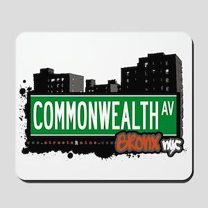 Commonwealth Av, Bronx, NYC  Mousepad
