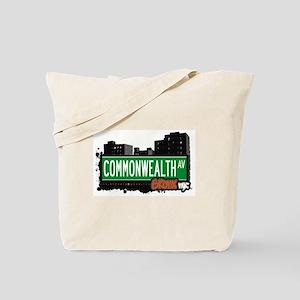 Commonwealth Av, Bronx, NYC  Tote Bag