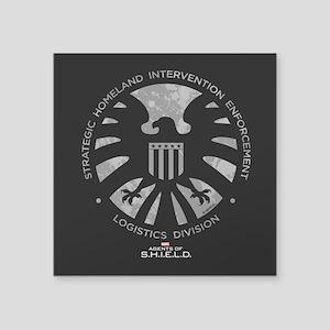 "Marvel Agents of S.H.I.E.L. Square Sticker 3"" x 3"""