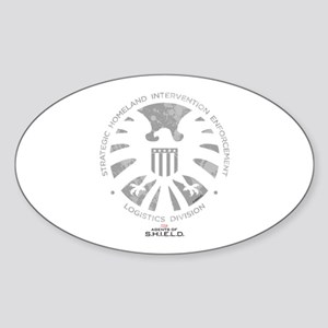 Marvel Agents of S.H.I.E.L.D. Sticker (Oval)