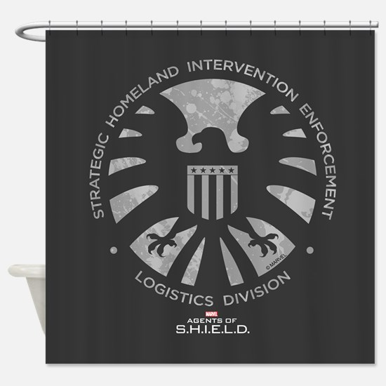 Marvel Agents of S.H.I.E.L.D. Shower Curtain