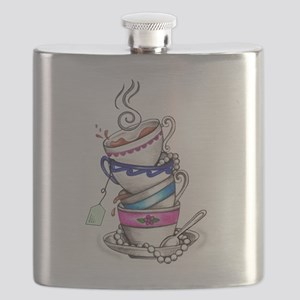 Tea for Four Flask