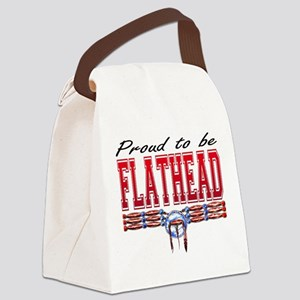 Proud to be Flathead Canvas Lunch Bag