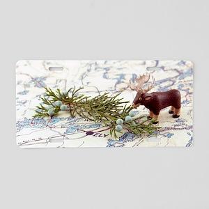 BWCA Moose Aluminum License Plate