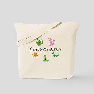 Kaydenosaurus Tote Bag