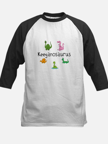 Keeganosaurus Kids Baseball Jersey