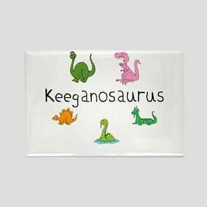 Keeganosaurus Rectangle Magnet