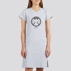 Metal Shield Women's Nightshirt