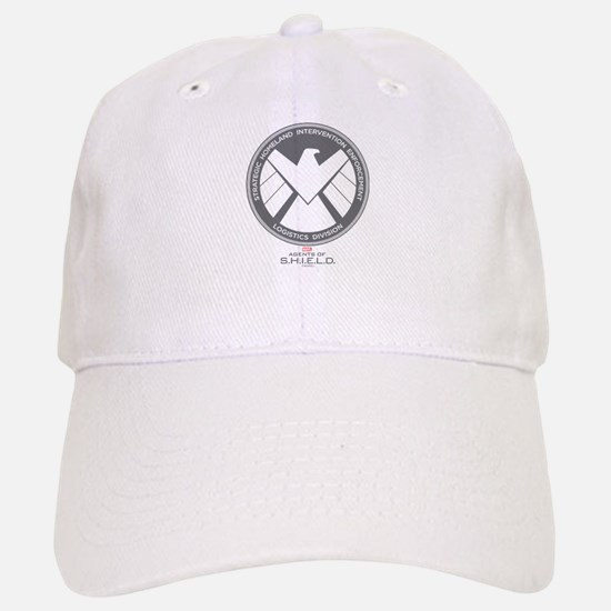 Metal Shield Baseball Baseball Cap