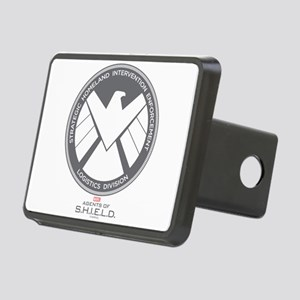 Metal Shield Rectangular Hitch Cover