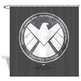 Marvels agents of shield Shower Curtains