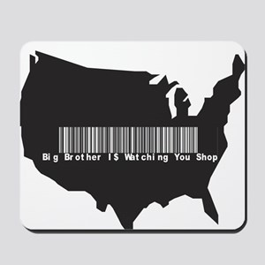 Big Brother is watching you shop - Mousepad