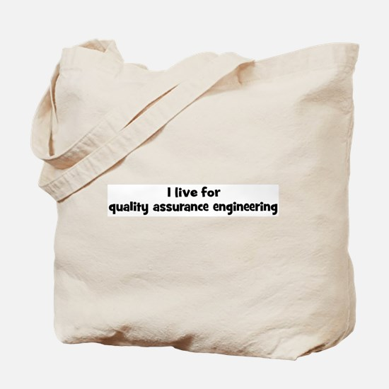 quality assurance engineering Tote Bag