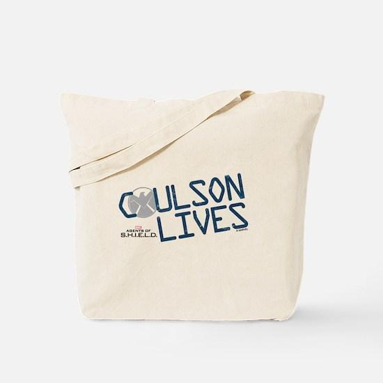 Coulson Lives Tote Bag