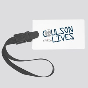 Coulson Lives Large Luggage Tag