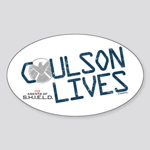 Coulson Lives Sticker (Oval)