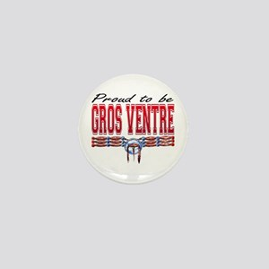 Proud to be Gros Ventre Mini Button