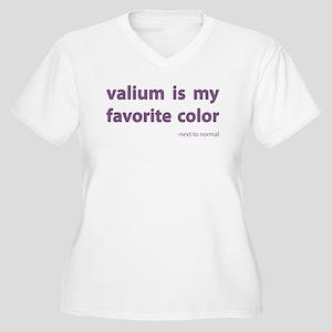 Valium is my favorite color Plus Size T-Shirt