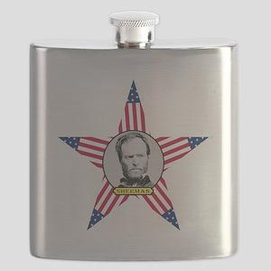 William Tecumseh Sherman Flask