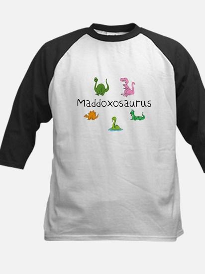 Maddoxosaurus Kids Baseball Jersey
