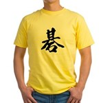 Go Symbol Yellow T-Shirt