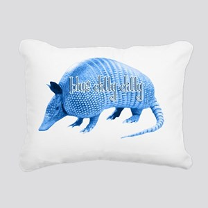 Blue Dilly Dilly Rectangular Canvas Pillow