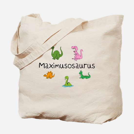 Maximusosaurus Tote Bag