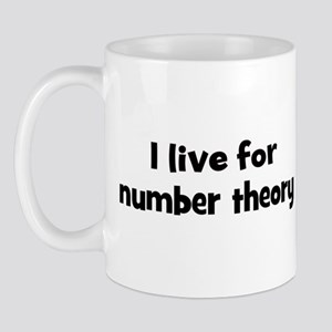 number theory teacher Mug