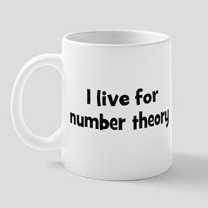 number theory teacher Mug
