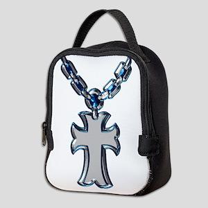Rosary (blue) Neoprene Lunch Bag