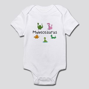 Mylesosaurus Infant Bodysuit