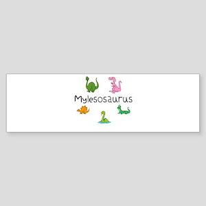 Mylesosaurus Bumper Sticker