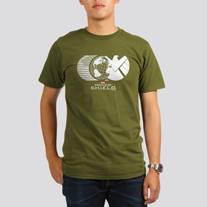 S.H.I.E.L.D. Organic Men's T-Shirt (dark)
