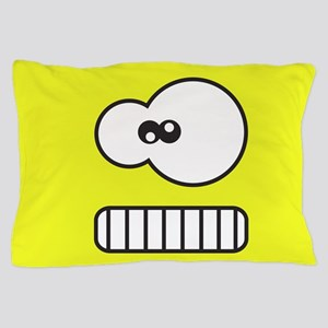 Silly Monster Face Pillow Case