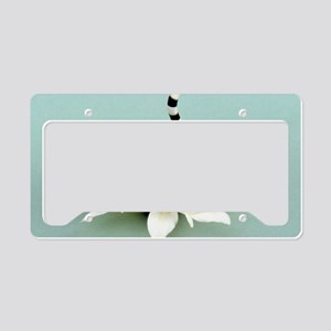 Daisy Lemur License Plate Holder