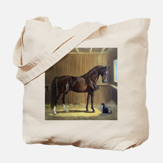 Marco and Sneaker Tote Bag