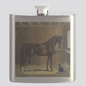 Marco and Sneaker Flask