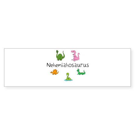 Nehemiahosaurus Bumper Sticker