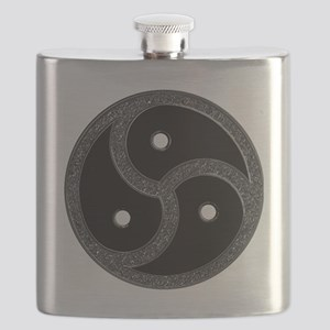 Chrome Look - BDSM Symbol Flask