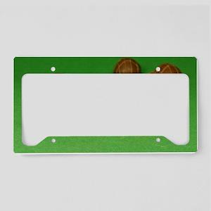 Prairie Chocolates License Plate Holder