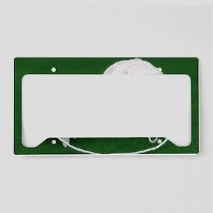 Sheep Yarn License Plate Holder