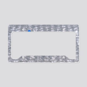 Pins and Needles License Plate Holder